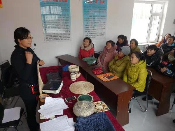 Traditional Handicrafts to Help Farmers out of Poverty in Jilin