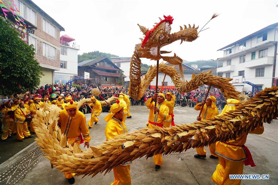 People of Dong Ethnic Group Celebrate New Year Through Various Activities