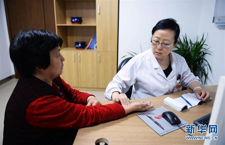 Woman Grows from Patient to Well-known Doctor