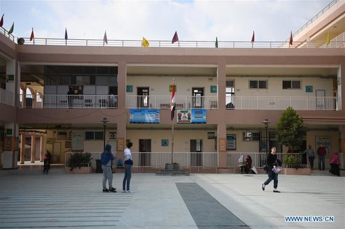 A Chinese-built School in Egypt Becomes Magnet for Local Parents