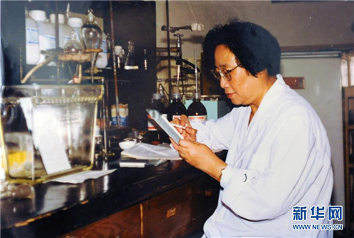 Tu Youyou Named as One of 20th Century's Greatest Scientists