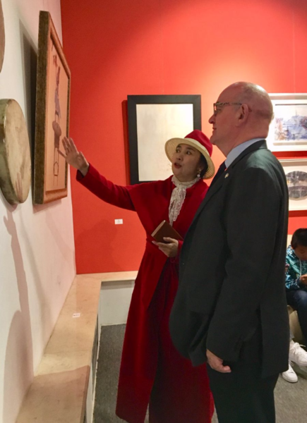 40 Years of Sino-Irish Friendship Celebrated in Art Exhibition