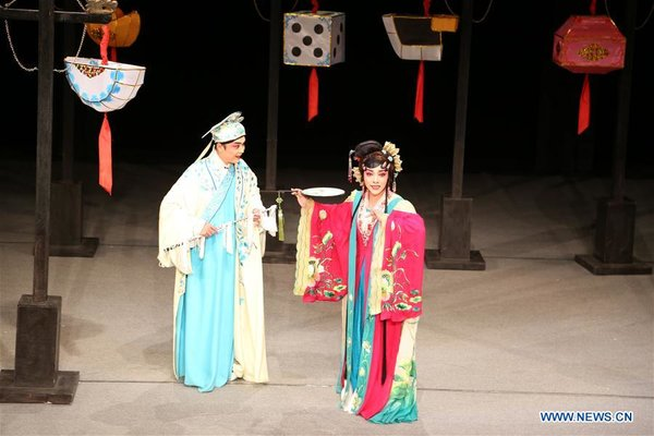 ROMANIA-SIBIU-INTERNATIONAL THEATER FESTIVAL-CHINA-SICHUAN OPERA