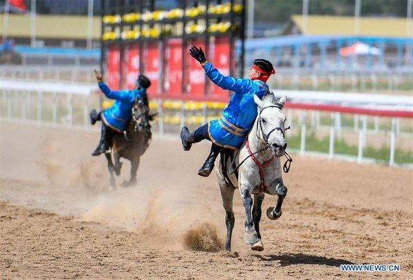 Inner Mongolia Int'l Equestrian Festival Kicks off in Hohhot