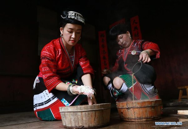 #CHINA-GUANGXI-YAO ETHNIC GROUP-HAIR (CN)
