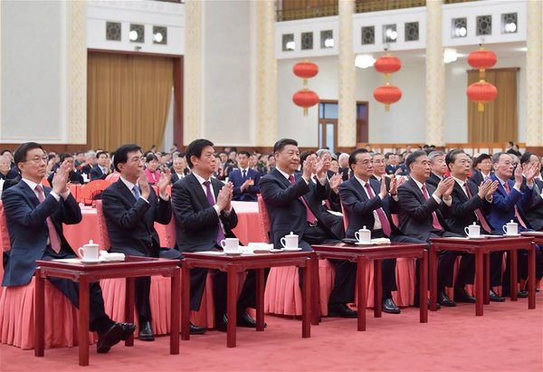 CHINA-BEIJING-CPC CENTRAL COMMITTEE-STATE COUNCIL-RECEPTION (CN)
