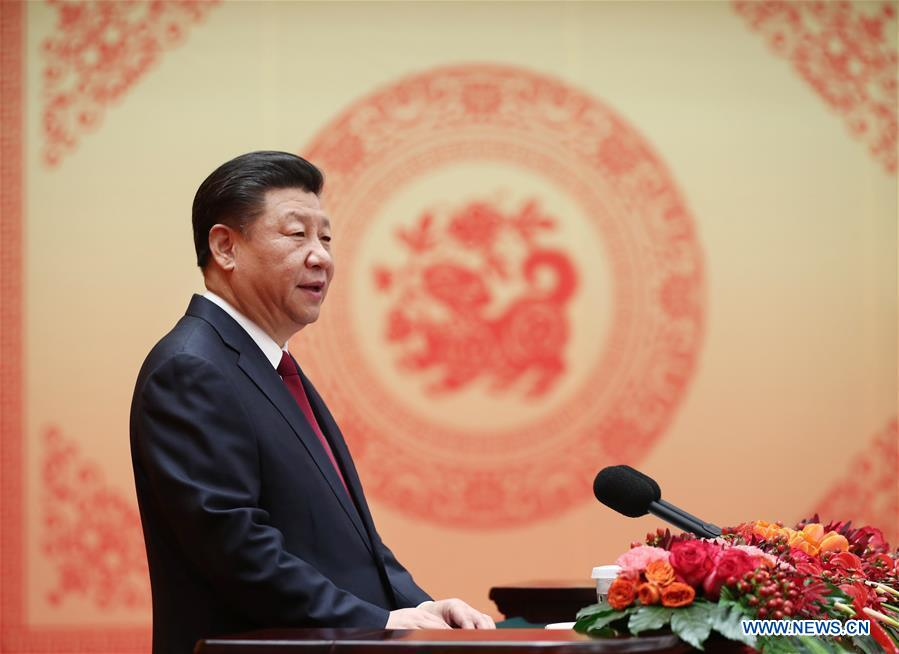 Chinese Leaders Extend Spring Festival Greetings