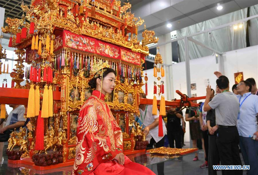 5th China Intangible Cultural Heritages Expo Held in E China