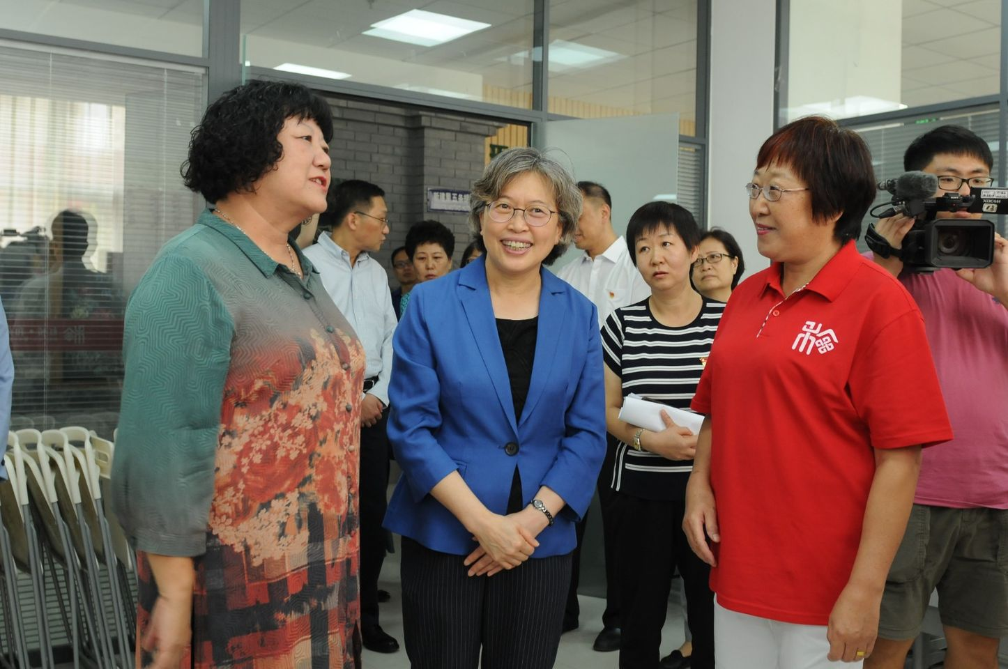 ACWF Senior Official Inspects Work, Reform of Women