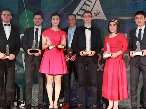 Ding Ning Crowned 2017 Table Tennis Star at ITTF Star Awards