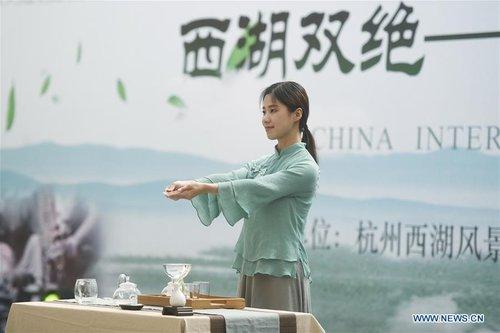 Tea Expo Kicks off in Hangzhou, E China