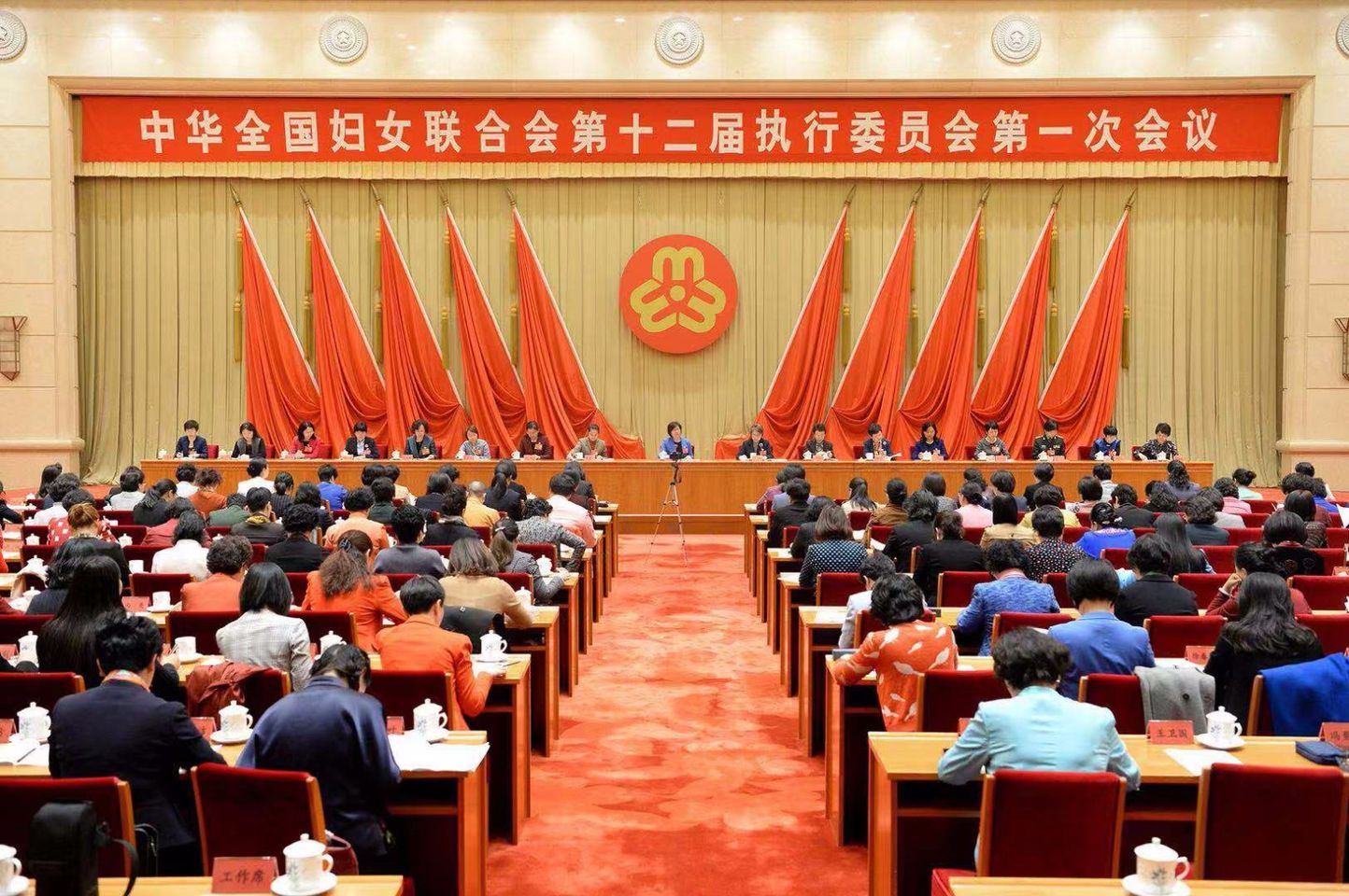 ACWF Executive Committee Holds Plenary Meeting to Convey, Study President Xi